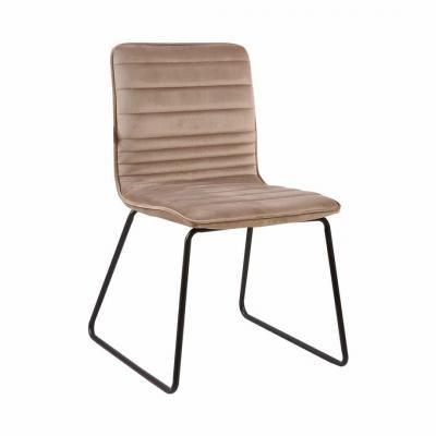 Steppelt bársony szék, bézs - VENUS